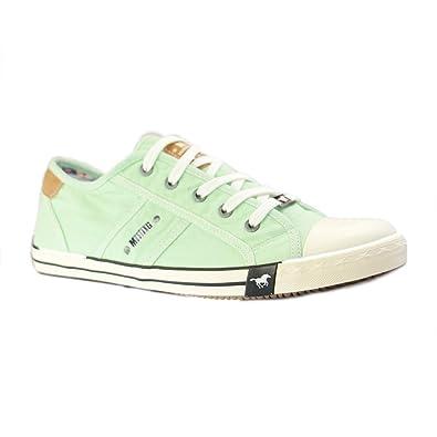 Mustang Schuhe Übergrößen In Sneaker Damen Grün rdWoxBCeQ