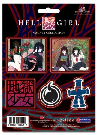 GE Animation Hell Girl Magnet Collection Cool Anime (Gundam Magnet)