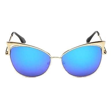 YANJING Gafas sol Gafas de sol de lujo Cat Eye Mujer ...