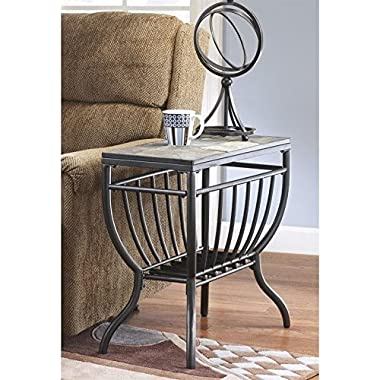 Signature Design by Ashley Antigo Slate Chair Side End Table