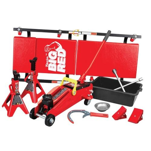 1 Set Creeper (Big Red Combo Garage Kit, 10-Piece (T82212))