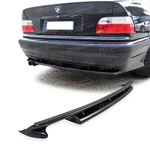 (PULIps BME3692M3SRAD - M3 Style Rear Bumper Lip For BMW E36 1992-1998)