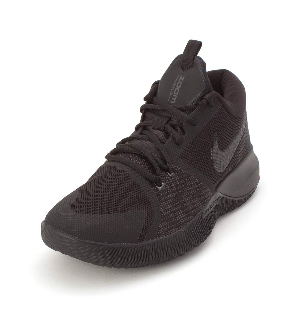e3848228abda Galleon - Nike Men s Zoom Assersion Basketball Shoe Black (9.5)