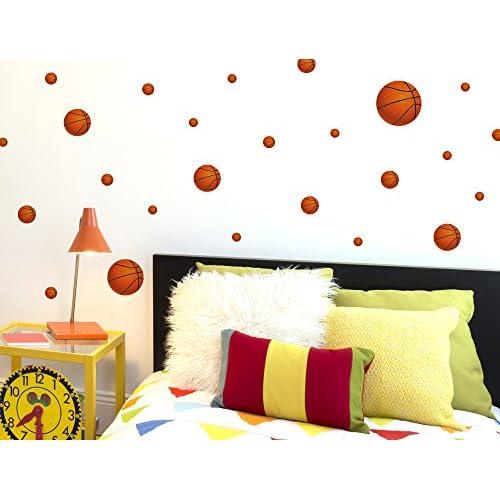 I Love Wandtattoo Was 10136 Wall Stickers Kids Basketballs Sticker