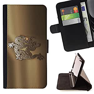 DEVIL CASE - FOR Samsung Galaxy Note 4 IV - brands art logo - Style PU Leather Case Wallet Flip Stand Flap Closure Cover