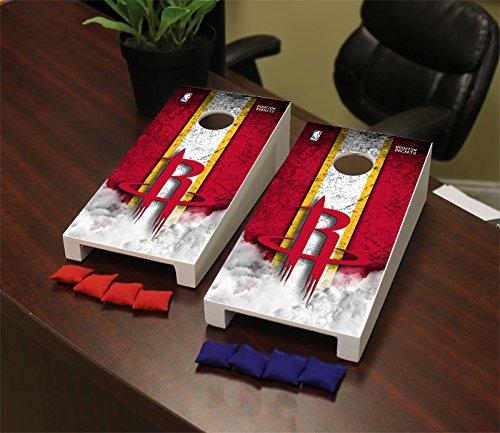 Victory Tailgate Houston Rockets NBA Desktop Mini Cornhole Game Set