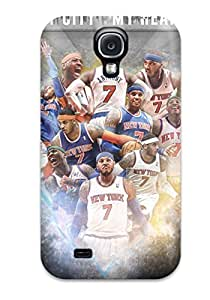 Hot 4907368K55106374 Awesome Case Cover/galaxy S4 Defender Case Cover(carmelo Anthony)
