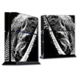 MightySkins Protective Vinyl Skin Decal Cover for Sony PlayStation 4 PS4 Console wrap sticker skins Snake Bite
