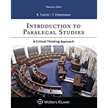 Introduction to Paralegal Studies: A Critical Thinking Approach (Aspen Paralegal Series)