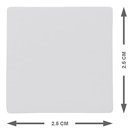 limpiar y reutilizar Escribir Imanes Cuadrados Variado, 5 x 5 cm Juego de 25 imanes