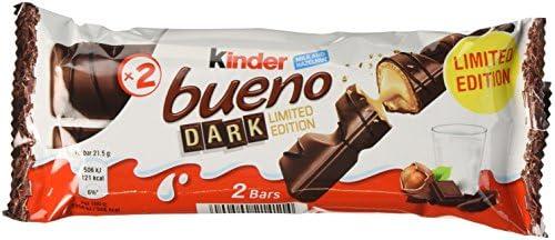 Kinder Bueno DARK, 30 x 43g.: Amazon.es: Alimentación y bebidas