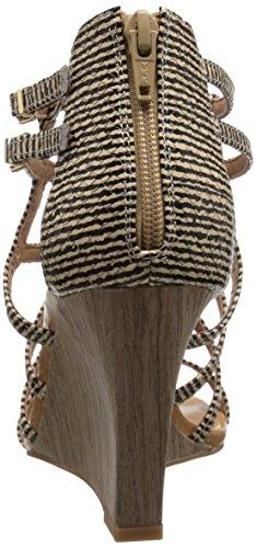 Illustrious Natural Wedge Women's Pump Stripe Seychelles 7xC85qwgx