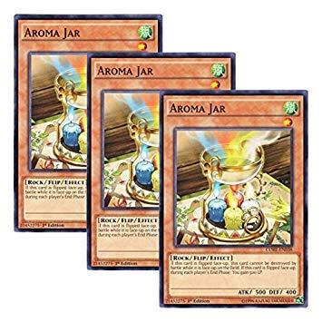 (Yu-Gi-Oh! y3 Pieces setz English Version CORE-EN 038 Aroma Jar Aroma Pot (Normal) 1st Edition)