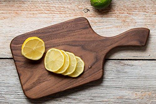 Brazos Large Wood Cutting Board, Walnut ()