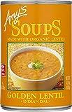 Amy's Soups, Organic Indian Golden Lentil Soup, 14.4 Ounce