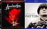 Patton & Apocalypse Now / Apocalypse Now Redux Classic War Blu-ray 3-Movie Bundle