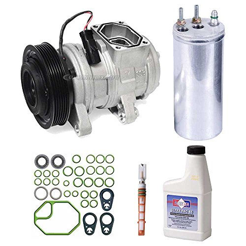 New AC Compressor & Clutch With Complete A/C Repair Kit For Jeep Wranger TJ - BuyAutoParts 60-80151RK New