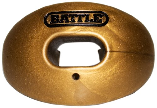 Battle Oxygen Lip Protector Mouthguard, Metallic