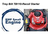 BMotorParts Recoil Pull Starter for 140cc Troy Bilt TB110 Push Mower Briggs & Stratton ENG.