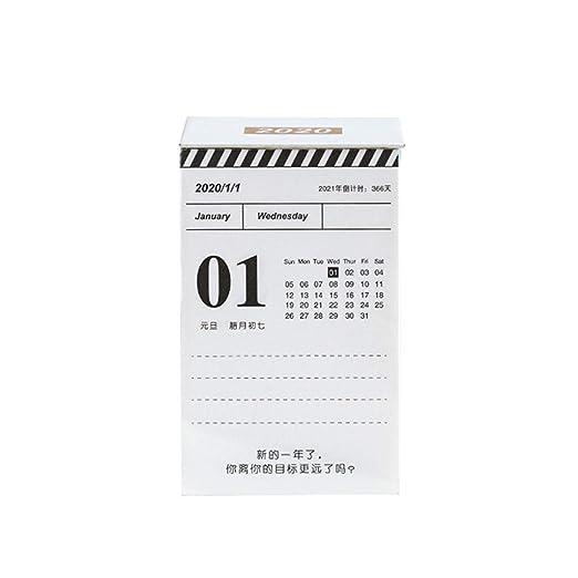 Calendario Calendarios de Escritorio Calendarios d 2020 ...
