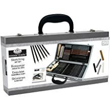 Royal & Langnickel RSET-SKET2000 Wooden Box Sketching Art Set, Multicolor