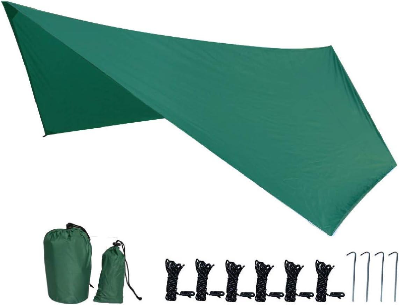 TRIWONDER Tarp B/âche Imperm/éable Abri de Tente Anti Pluie Parasol Hamac Tapis de Sol Camping pour Randonn/ée Pique-Nique