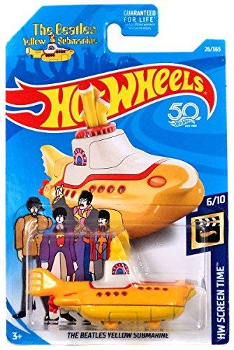 Hot Wheels 2018 50th Anniversary HW Screen Time The Beatles Yellow Submarine 26/365