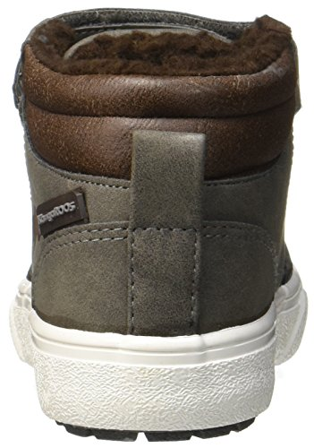 Hautes Grey Mixte Baskets Grau Saddle Enfant Nery KangaROOS Brown Steel E0CBqPwSx