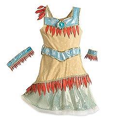 Disney Pocahontas Costume for Kids Brown