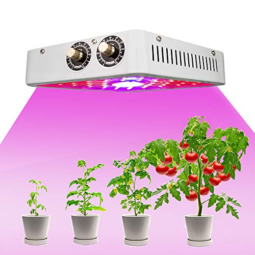 1000W Led Grow Light Yapeach Upgrade COB Plant Growing Lamps with Double Chips and Veg-Bloom Switch Full Spectrum Plant Grow Lights for Indoor Plants Veg and Flower