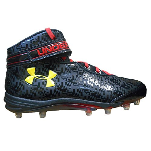 Under Armour Men's Team Run N Gun Com MC Wide Football Cl...