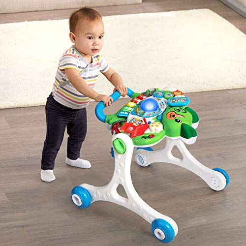 51E1dGScJ3L - LeapFrog Scout's 3-in-1 Get Up and Go Walker Frustration Free Packaging