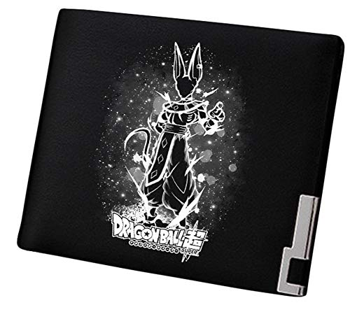 Gumstyle Men Dragon Ball Anime Artificial Leather Wallet Billfold Money Clip Bifold Card Holder 3]()