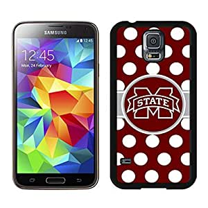 Southeastern Conference SEC Football Mississippi State Bulldogs Black Samsung Galaxy S5 Screen Cover Case Newest and Fashion Design