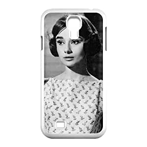 HXYHTY Customized Audrey Hepburn Pattern Protective Case Cover Skin for Samsung Galaxy S4 I9500
