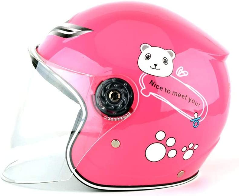 Wind Protection for Cycling Boys and Girls Helmets Multicolored New-look Childrens Cycling Helmet Motorcycle Helmet Half Helmet