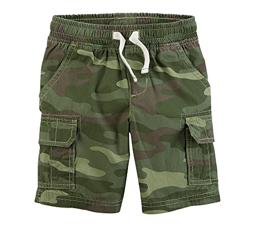 Carter's Baby Boys' Easy Pull On Cargo Shorts Camo 9 Months