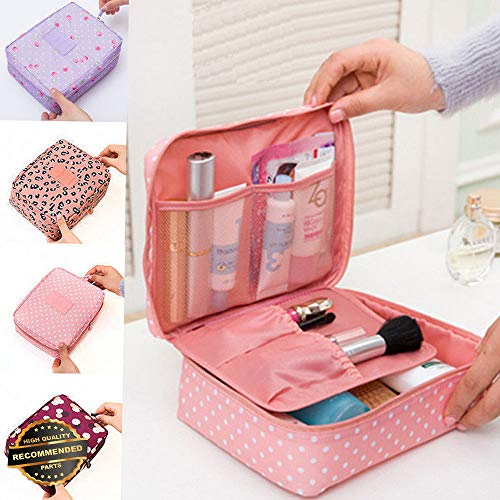 Gatton Travel Cosmetic Makeup Bag Toiletry Case Wash Organizer Storage Hanging Pouch | Style TRVIHR-11292232