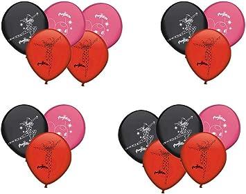 ALMACENESADAN 0677, Pack 16 Globos Lady Bug; para Fiestas y cumpleaños. Ideal para Decorar Tus Fiestas.: Amazon.es: Juguetes y juegos