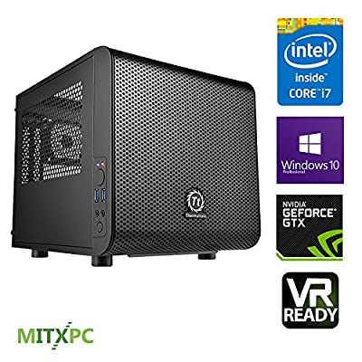VR Ready Gaming System w/ Intel i7-6700, 16GB, 256GB M.2 SSD, 2TB HDD, GTX 1060, Windows 10 Pro - Configured and Assembled by MITXPC