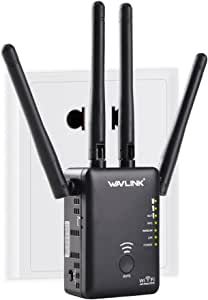Wavlink AC1200 Dual Band Repeater WiFi Range Extender/Access Point/Router/Media Bridge with External Antenna and WPS 1200Mmbps WiFi Booster (575A3)