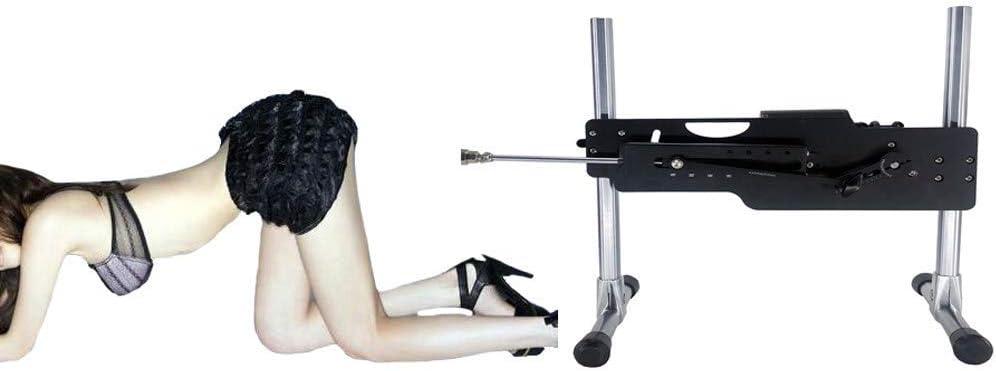 Sex-Machine/Sex Machine Versión extendida Inteligente, increíblemente Extensible automáticamente 3-13CM, 360 ° Ajustable, Diferentes Modos de máquina de follar, Negro: Amazon.es: Hogar