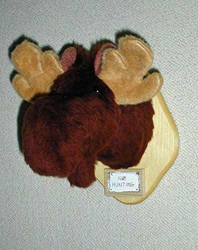 Plush Moose Head Trophy Mount