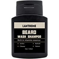 OUNONA Lanthome Beard Wash Shampoo Conditioner Moisturiser Beard Clean Liquid Hair Vitamins Essence for Hair Care Nourishing