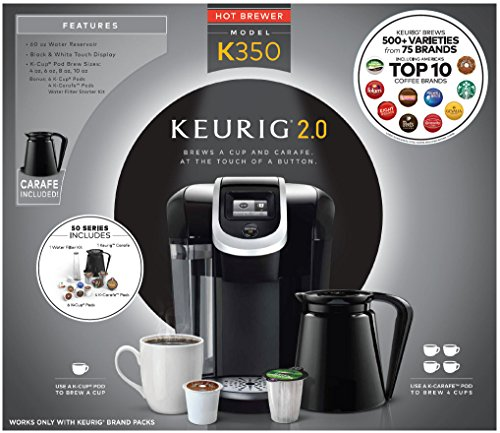 Keurig Coffee Maker Brewing Slow : Keurig K350 2.0 Brewing System - Best Kitchen Gadgets