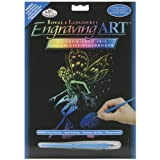 Royal Brush Rainbow Foil Engraving Art Kit, 8 by 10-Inch, Fairy Princess