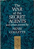 img - for The War of the Secret Agents and Other Poems book / textbook / text book