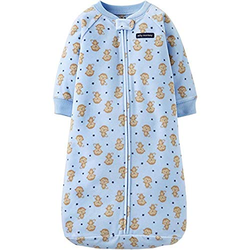 Child of Mine By Carters Baby Boys 0-9 Months Fleece Sleep Bag (Blue Monkey)