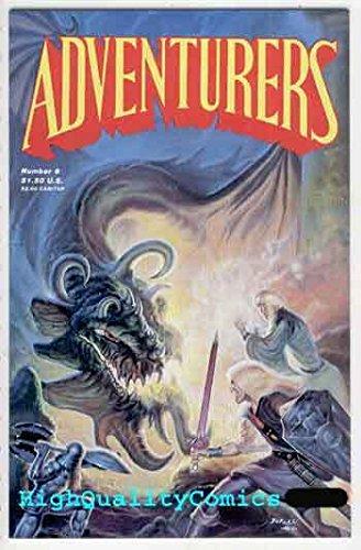 ADVENTURERS #6, VF/NM, Warriors, Swords, Hsu, Ninja, (Dwarf War Sword)