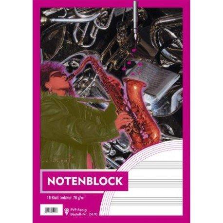 Notenblock A4